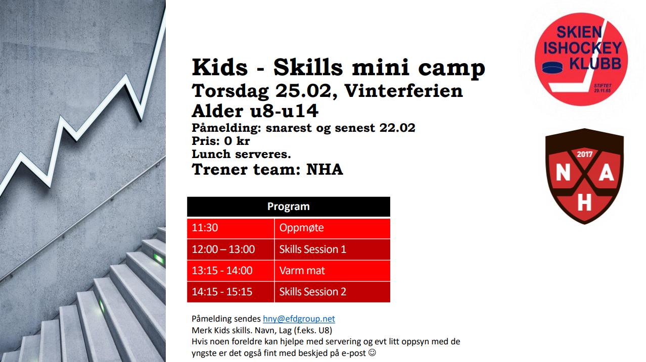 Kids-skills mini camp 2021 - 25.02.21